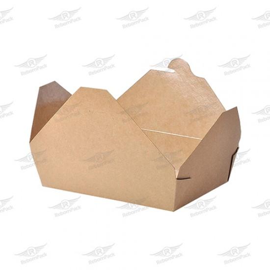 ΚΟΥΤΙ KRAFT BOX ΦΑΓΗΤΟΥ 21x19,6x4,8cm 50τμχ